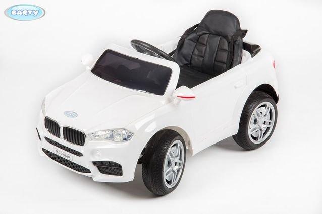Электромобиль BMW M004MP (глянцевая покраска, музыка, резиновые колеса, кожа, пульт)