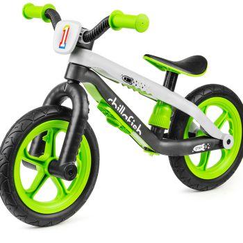 Легкий беговел в стиле трюкового Chillafish BMXie синий (резиновые колеса)